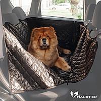 Автогамак для собак Happy Travel Elegant на заднее сидение автомобиля 120х145см