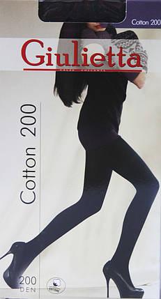 Колготки Giulia ( Джулия ) Cotton 200, фото 2