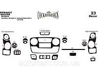 Накладки на панель Nissan NV400 (2010+) Малый комплект