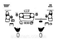 Накладки на панель Nissan NV400 (большой комплект)