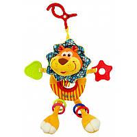 Плюшевая подвесная игрушка Baby Mix 8562-24L Лев