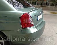 Спойлер (под покраску) Hyundai Accent