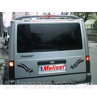 """Спойлер """"Исикли"""" низкая крыша (под покраску) Ford Transit (2003+)"""
