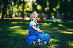 Детские чемоданы-каталки (аналог trunki)