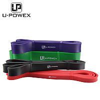 PB-3. 6,4мм, 2-8кг. Резинка для подтягиваний,брусьев, фитнеса, петля сопротивления, жгут. Power Bands. U-powex