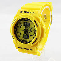 Часы наручные Casio G-Shock ga-150 Yellow CA338, фото 1