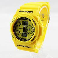 Часы наручные Casio G-Shock ga-150 Yellow CA338