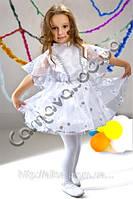 Карнавальный костюм для девочки  Снежинка, фото 1