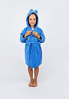 Халат детский Винни Пух 5-6 лет синий Lotus