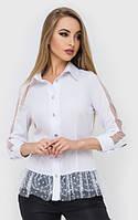 Женская рубашка с вставками сетки 45BL173 330, фото 1