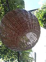 Люстра плетеная куля, фото 1