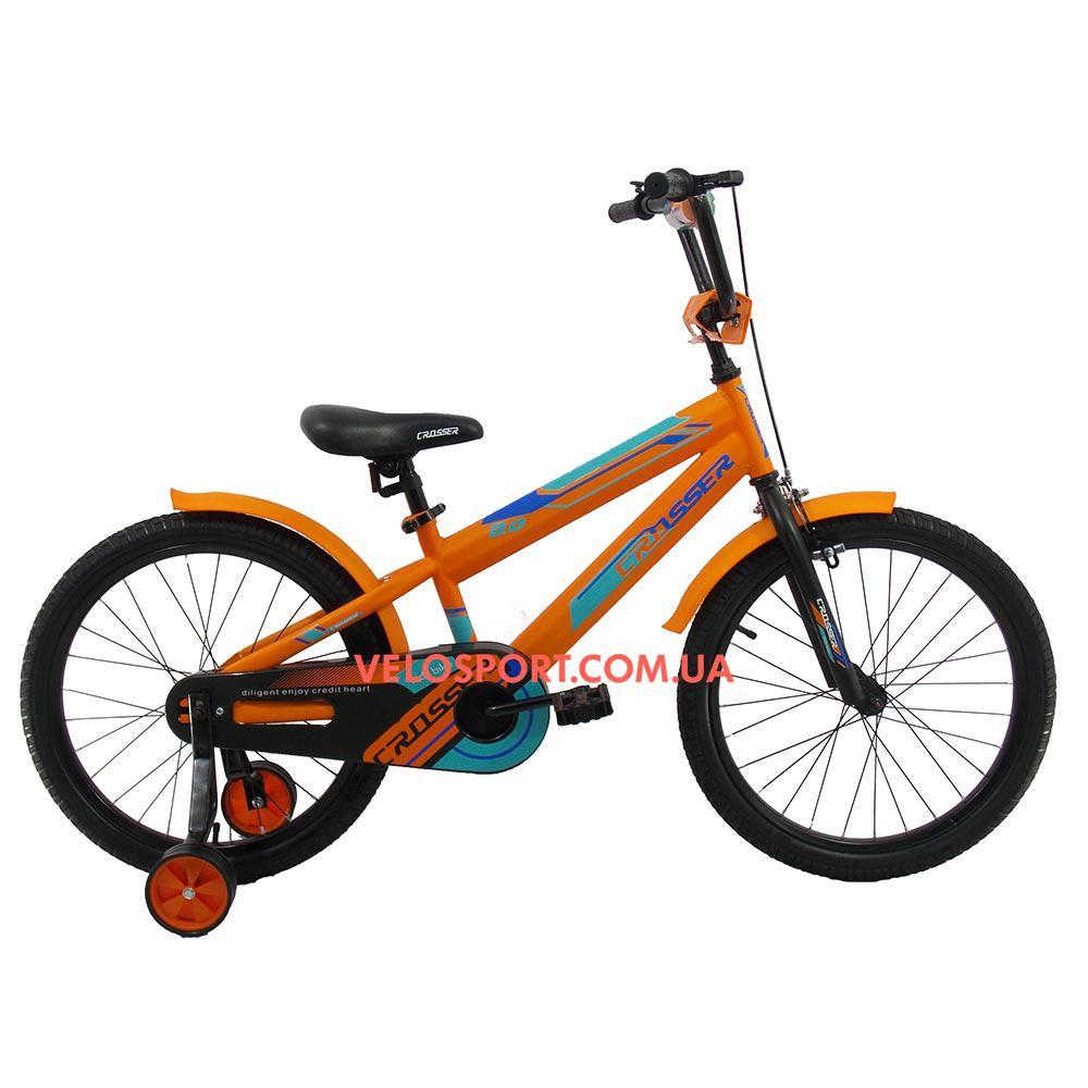 Детский велосипед Crosser JK 711 20 дюймов оранжевый