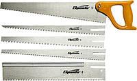 Ножівка по дереву, 350 мм, 5 змінних полотен, пластмасова ручка / / SPARTA