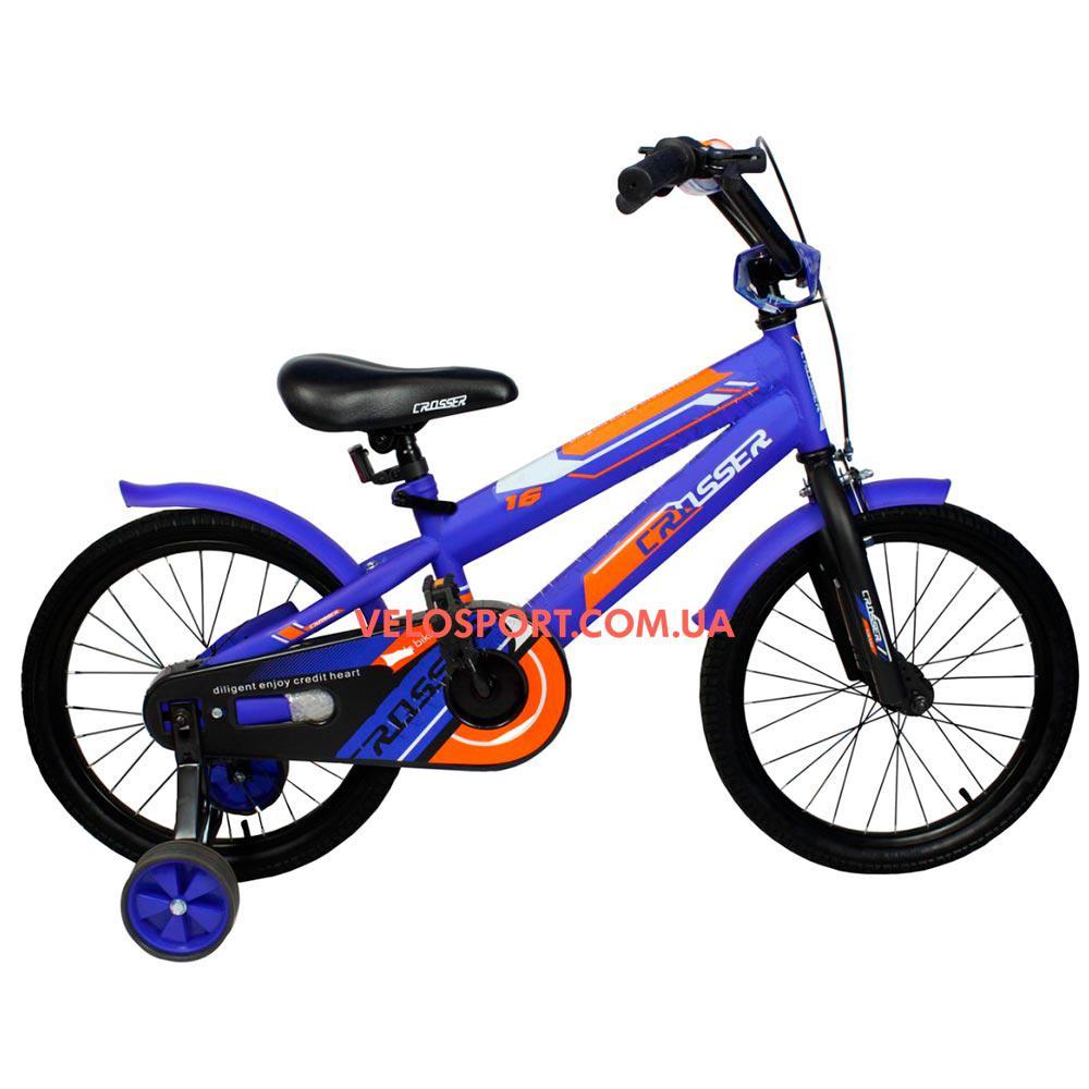 Дитячий велосипед Crosser JK 711 20 дюймів синій