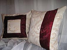 "Комплект подушек ""Буржуа"" (2шт.40х40), фото 3"
