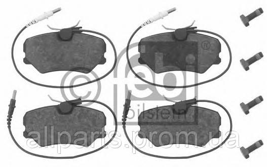 Тормозные колодки передние на Саманд