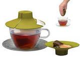 Силіконова кришка-вижималка Tea Bag Buddy, фото 2