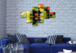 Картины для спальни на холсте фото, на Холсте син., 75x120 см, (18x18-2/40х18-2/65x18-2), фото 2