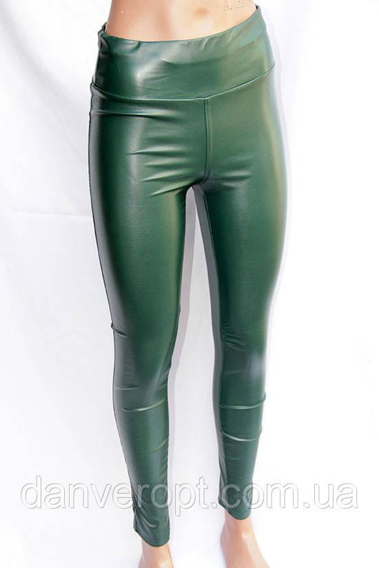 Лосины женские модные стильные кожзам размер 42-48,купить оптом со склада 7км Одесса