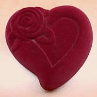 Сердце красное.
