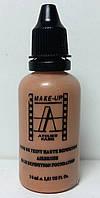 Водоустойчивый тон-флюид для аэрографа 30 мл. (темный натуральный бежевый) Make-Up Atelier Paris