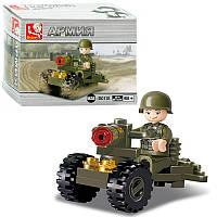 """Конструктор SLUBAN M38-B0118 """"Пулемет"""" 24 детали"""