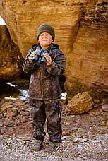Детский камуфляж костюм для мальчиков Лесоход цвет Лес на флисе, фото 2