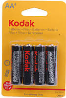 Батарейка солевая Kodak R-06 4шт AA