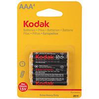 Батарейка солевая Kodak R-03 4шт ААА