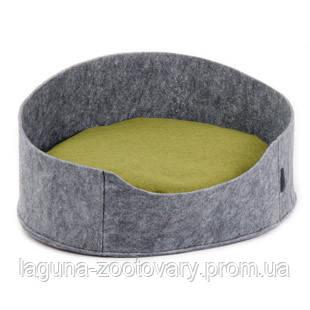 """Лежак """"БАЛИ"""" (22*37*48см) серый для кошек и собак, фото 2"""