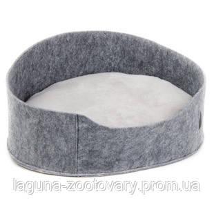 """Лежак """"БАЛИ"""" (22*37*48см) серый для кошек и собак"""