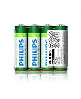 Батарейка солевая PHILIPS R-6 АА