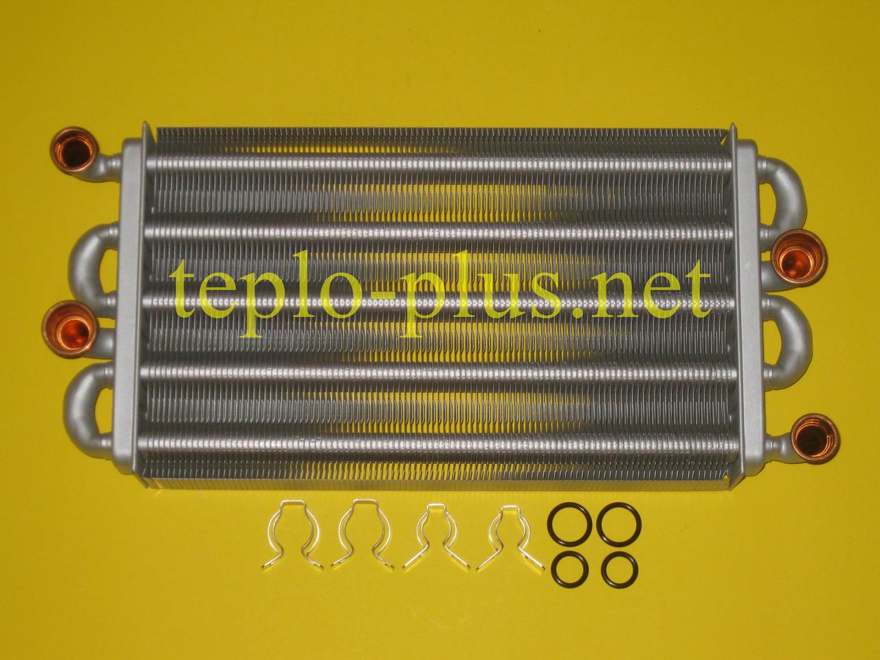 Теплообменник битермический 39842570 Ferroli Domiproject F32D, Domina F28 N