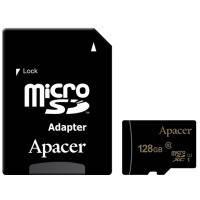 Карта памяти APACER microSDXC 128 GB UHS-I U1+adapter
