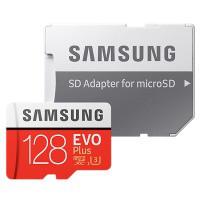 Карта памяти SAMSUNG microSDXC 128 GB EVO PLUS UHS-I U3 (R100, W90MB/s)