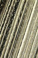 Шторы нити Радуга Дождь1+9+207 (белый+черный+графит)