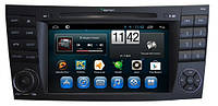 Магнитола Mercedes Benz E класс W211, S211 2002-2009, CLS W219 2004-2010. Kaier KR-7006 Android