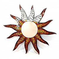 "Зеркало мозаичное ""Солнце"" (d-60 см) 24341"