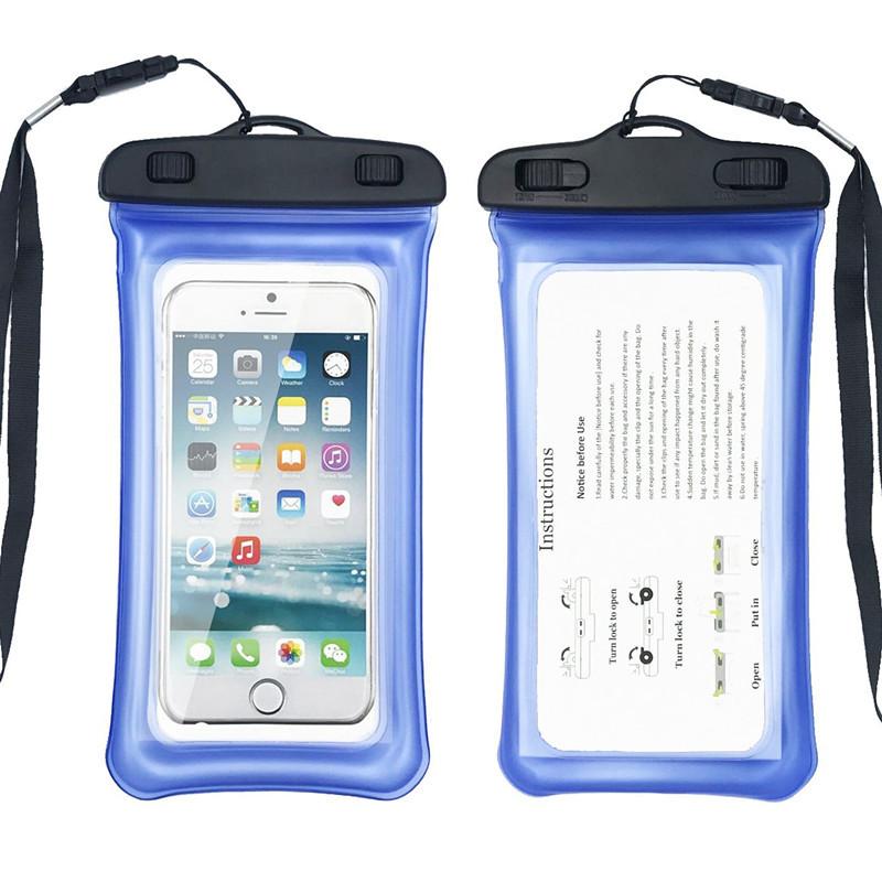 Водонепроницаемый чехол Extreme Bag для смартфонов до 5,5 '' синий