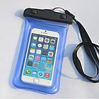 Водонепроницаемый чехол Extreme Bag для смартфонов до 5,5 '' синий, фото 2