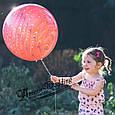 Повітряні латексні кулі супер агати павич червоний 45см, фото 6