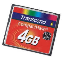 Карта памяти Transcend Compact Flash 4Gb 133x