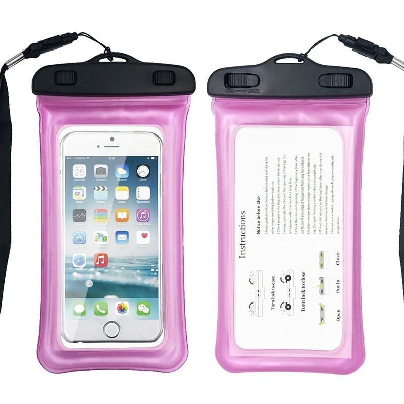 Водонепроницаемый чехол Extreme Bag для смартфонов до 5,5 '' розовый