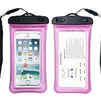 Водонепроницаемый чехол Extreme Bag для смартфонов до 5,5 '' розовый, фото 1