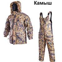 Зимний костюм рыболовный Беркут КМ камуфляж (камыш) Nova Tour