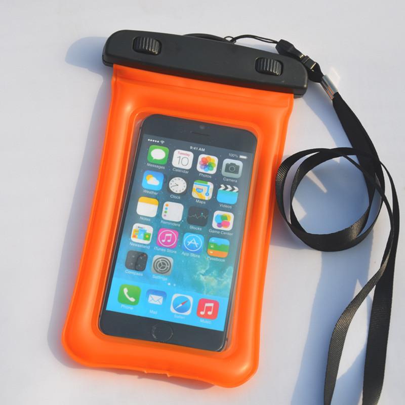 Водонепроницаемый чехол Extreme Bag для смартфонов до 5,5 '' оранжевый
