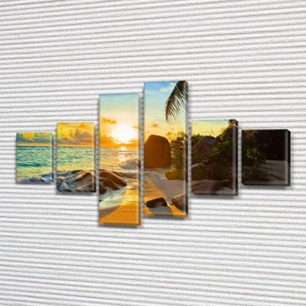 Модульные картины фото на Холсте син., 70x120 см, (25x18-2/35х18-2/65x18-2), фото 2