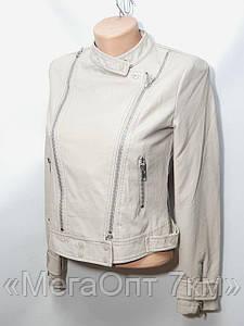 """Куртки женские из кожзама оптом """"HestovrviiO"""" (S-XL норма) Китай"""