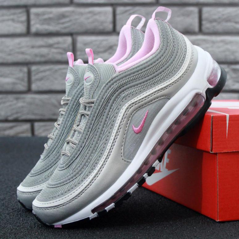 Nike Air Max 97 Grey Pink (реплика)