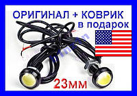 Врезная LED-лампа Линза Ксенон + КОВРИК ►ОРИГИНАЛ, фото 1
